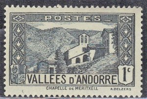 ANDORRA,FRENCH ADMIN. SC# 23 MH 1932-43  SEE SCAN