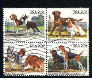 USA 2098-2101  Block   Used 1984 PD