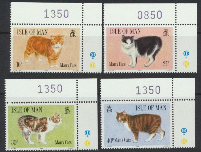 Isle of Man - SG 399-402  SC# 380-383  MUH Manx Cats