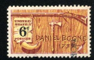 USA #1357   Used 1968 PD