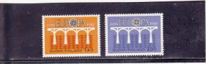 Finland  Scott#  693-4  MNH