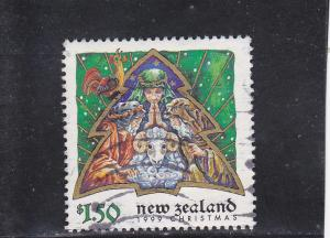 New Zealand  Scott#  1612  Used