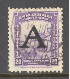 Colombia Sc # C189 used (DT)