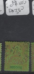 FRENCH INDOCHINA (P0501B)  SC  12     VFU