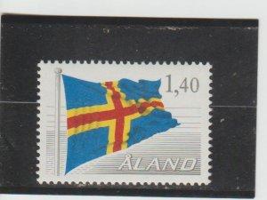 Aland  Scott#  7  MNH  (1984 Flag)