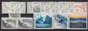 FAROE ISLANDS ^^^1975   sc# 7-20   MNH set     $$@ lar 3112faroe