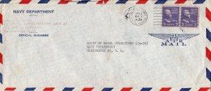 United States A.P.O.'s 3c Jefferson Prexie (2) 1954 Army-Air Force, Postal Se...