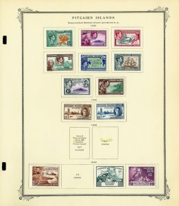 Pitcairn Islands Early Mint & Used Stamp Collection