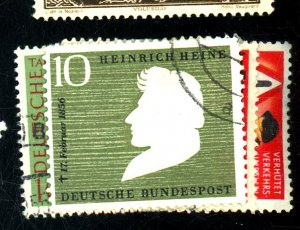 GERMANY #693-4 728 736 740 USED FVF Cat $35