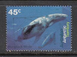 AAT SC# L94  1995 Whales used