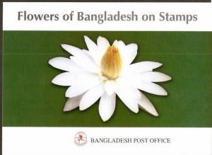 Bangladesh 1978-95 Flowers Tree Plant Lotus Sc 139-44, 490-95 Presentation Pa...