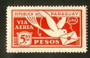 PARAGUAY C10 MH BIN $1.00