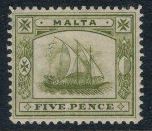 Malta #45* CV $5.00