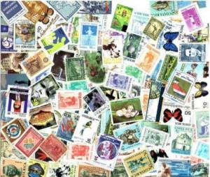 Costa Rica Stamp Collection - 300 Different Stamps