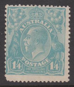 Australia Sc#76 MH