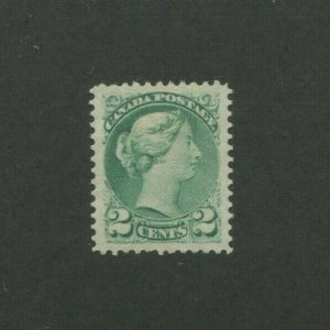 1872 Canada Postage Stamp #36 Mint Lightly Hinged VF Original Gum