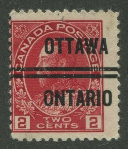 CANADA PRECANCEL OTTAWA 3-106