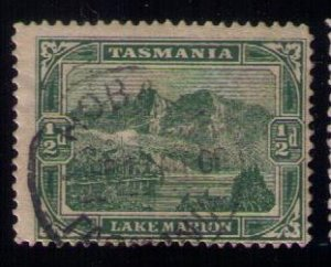 TASMANIA SC 86 USED (AUSTRALIAN STATES) HOBART CANCEL 1899 F-VF