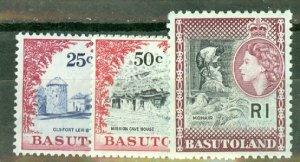 CS: Basutoland 72-82 mint CV $111.40; scan shows only a few