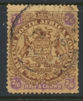 British South Africa Company / Rhodesia SG 48 SC# 35   Used  see details