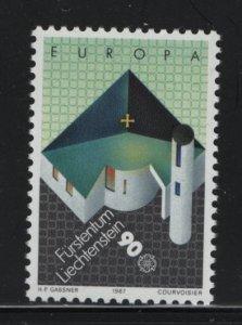 LIECHTENSTEIN, 862, MNH, 1987, EUROPA