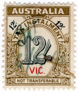 (I.B) Australia - Victoria Revenue : Tax Instalment 12/-