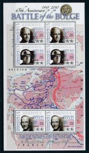 [81173] Dominica 2009 Second World war Ardennes offensive Belgium Sheet MNH