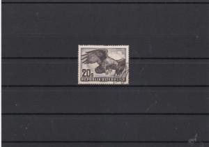 Austria 1950 Golden Eagle Used Air Stamp ref R 17165