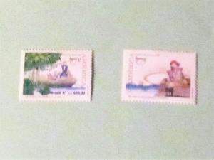 Brazil - 2333-34, MNH Set. Discovery of America. SCV - $2.50