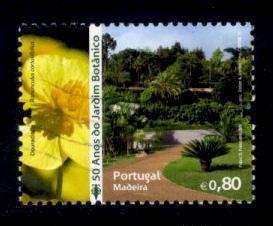 Madeira Sc# 286 U 50th Anniversary Botanical Gardens