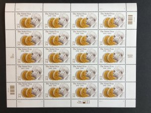 2001 sheet Nobel Prize Centenary Sc# 3504