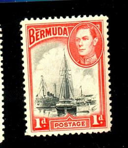 Bermuda #118a MINT F-VF OG HR Cat $16