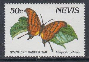 Nevis 646 Butterfly MNH VF