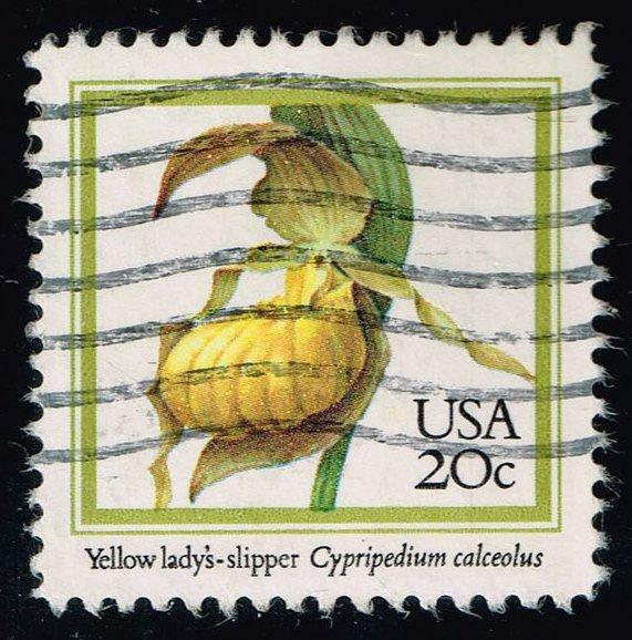 US #2077 Yellow Lady's Slipper; Used at Wholesale