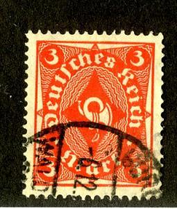 GERMANY 186 USED SCV $1.50 BIN $1.00