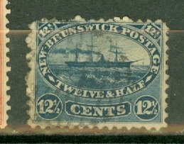 Canada New Brunswick 10 used CV $75
