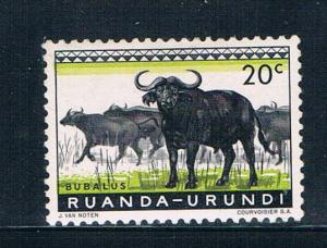 Ruanda Urundi 138 MNH Cape Buffaloes 1959 (R0261)+
