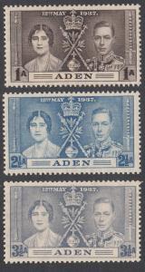 Aden 13-15 MH (see Details) CV $2.00