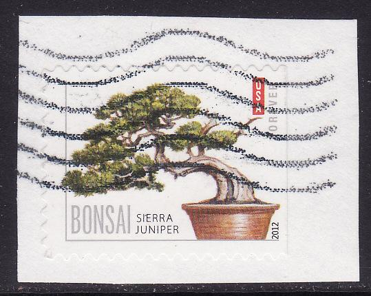 United States #4618 F-VF Used Bonsai on paper