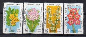 YEMEN - PDR - FLOWERS - 1979 -