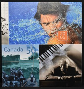 CANADA 2005 Stamp Yearbook USA delivery only.
