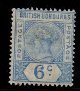 British Honduras Sc 42 1891 6c ultramarine Victoria stamp mint