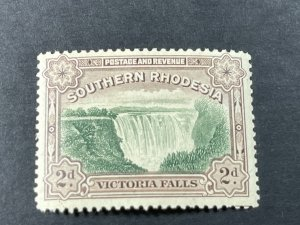 SOUTHERN RHODESIA # 37b-MINT/NEVER HINGED---P-12 1/2---SINGLE---1935-41