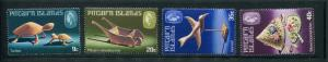 Pitcairn Is #194-7 MNH