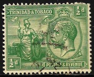 Trinidad & Tobago 1922 Scott# 21 Used (corner)