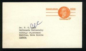 USA  postcard 8 cent 1974  PD