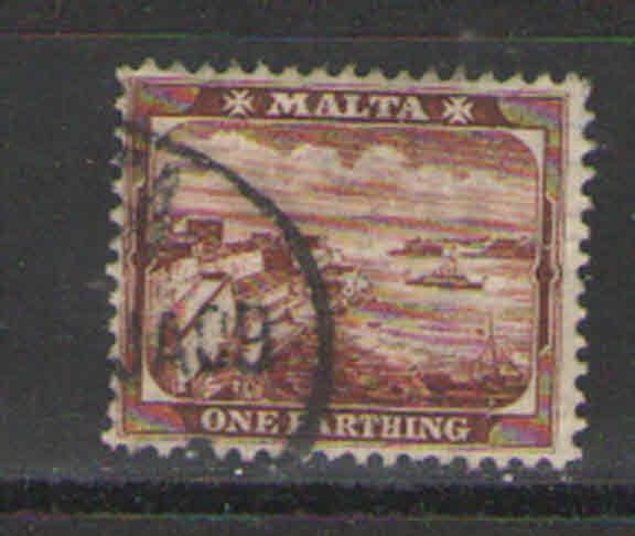 Malta 1901 Sc# 19 Used VG - Nice example