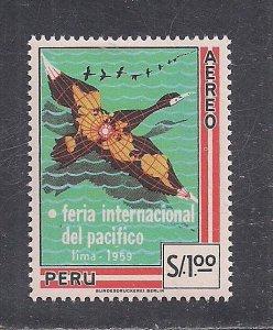PERU SC# C165  FVF/MOG