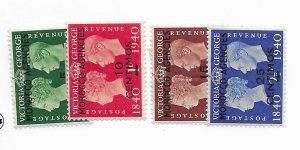 Moracco #89-92 MH - Stamp - CAT VALUE $6.30