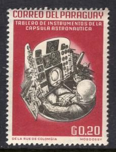 Paraguay 745 Space MNH VF